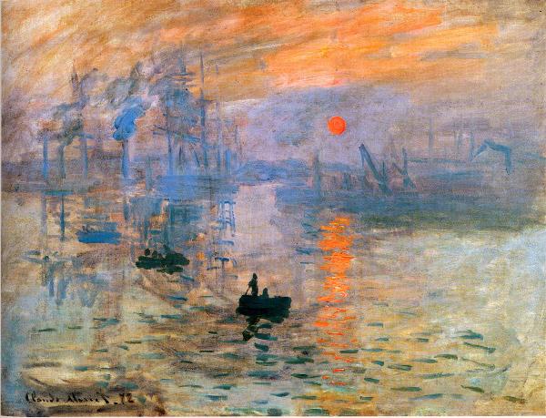 Monet, Impresion, sol naciente_reduc