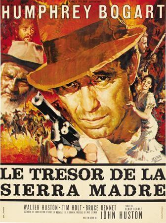 El Tesoro de la Sierra Madre _ cartel