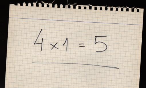 4x1=5001