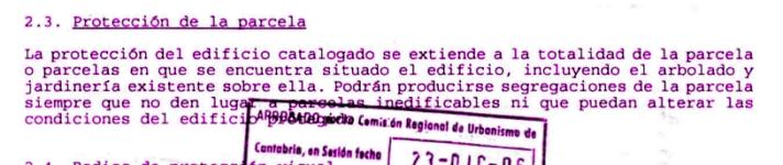 ProteccionParcelaCatálogo